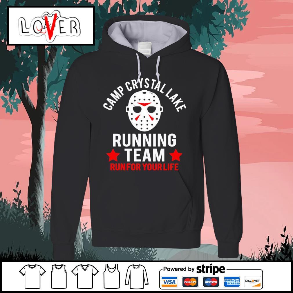 Jason Voorhees camp crystal lake running team run for your life s Hoodie