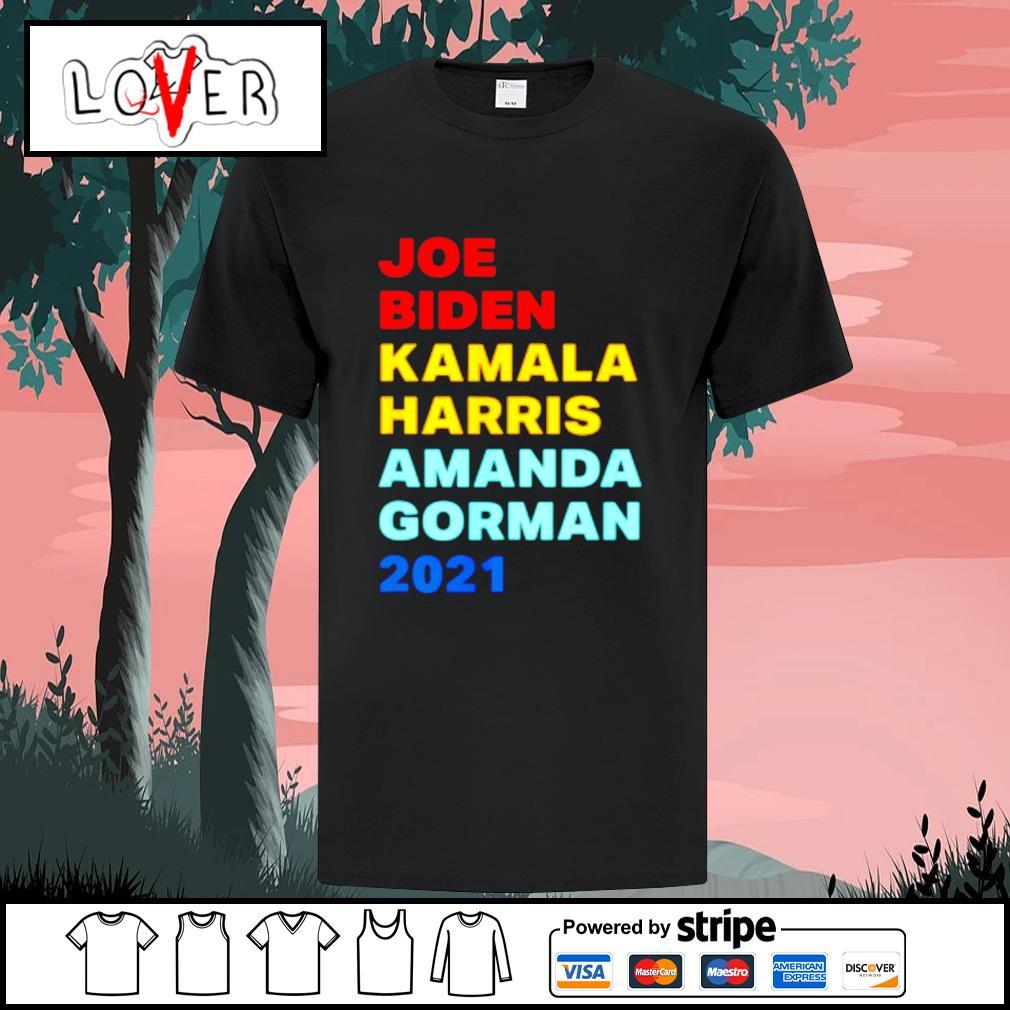 Joe Biden Kamala Harris amanda gorman 2021 shirt
