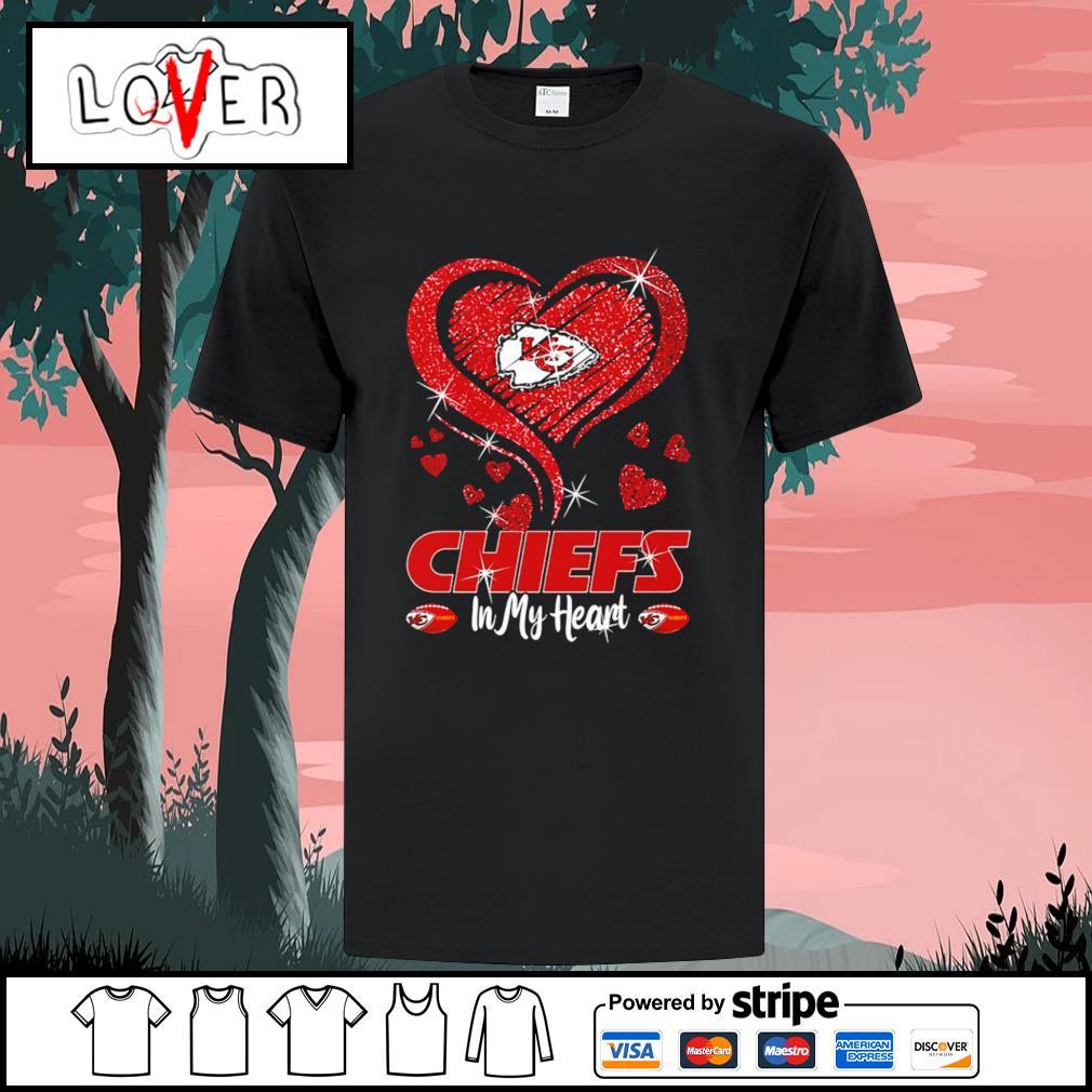 Kansas City Chiefs in my heart shirt