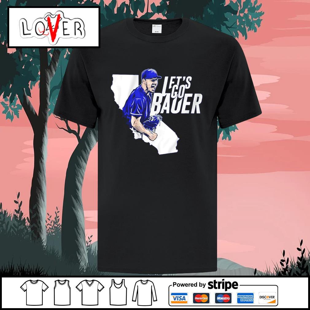 Let's go Trevor Bauer shirt