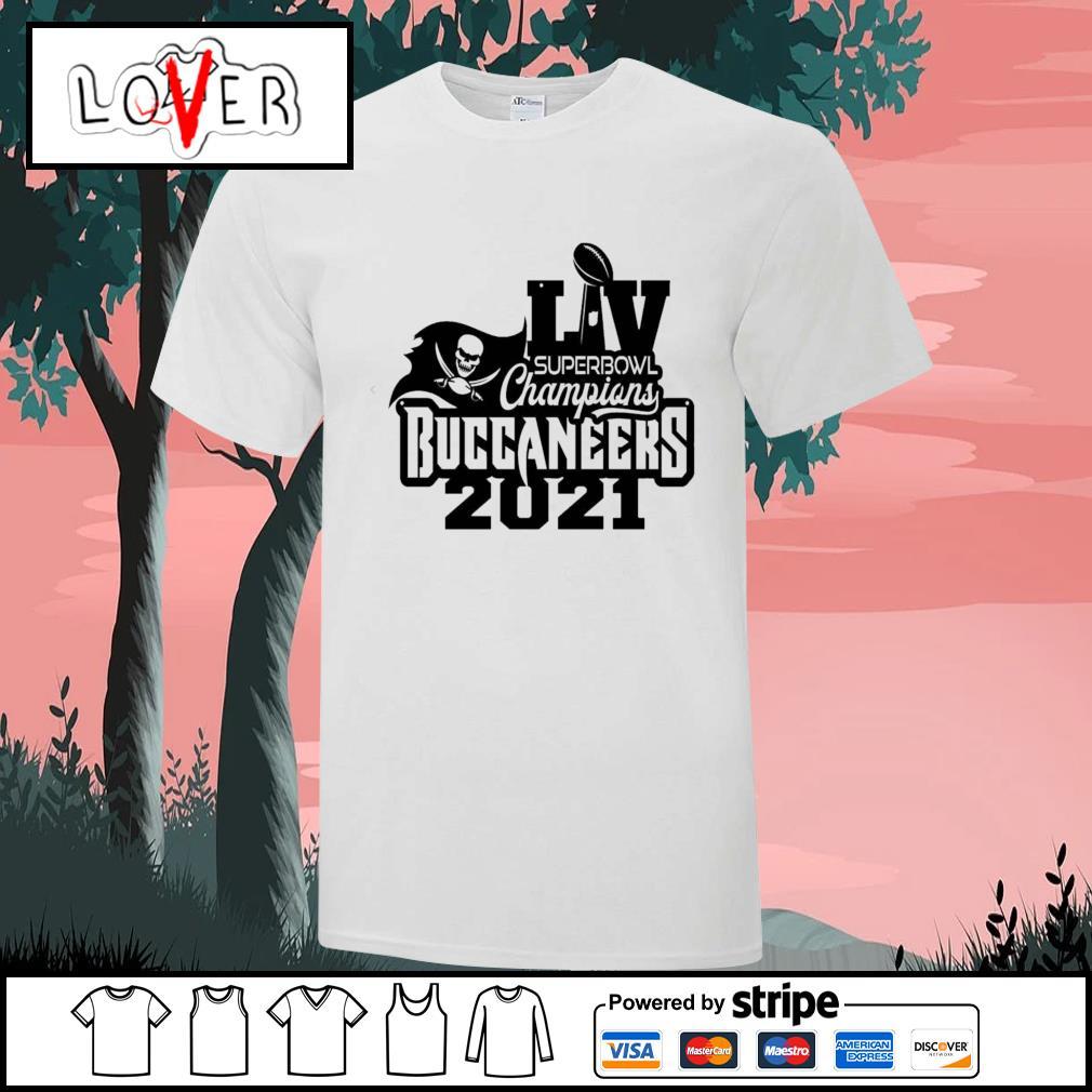 LV super bowl champions Buccaneers 2021 shirt