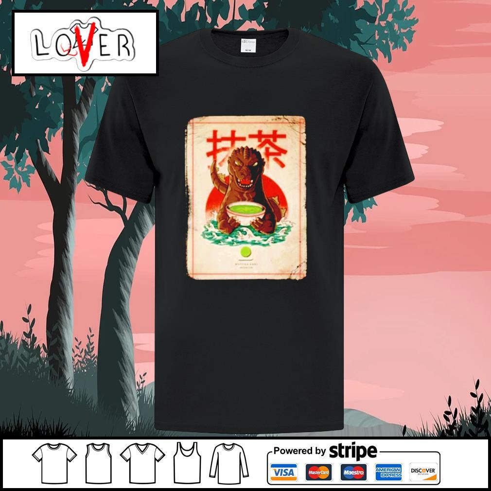 Matcha Zilla Godzilla shirt