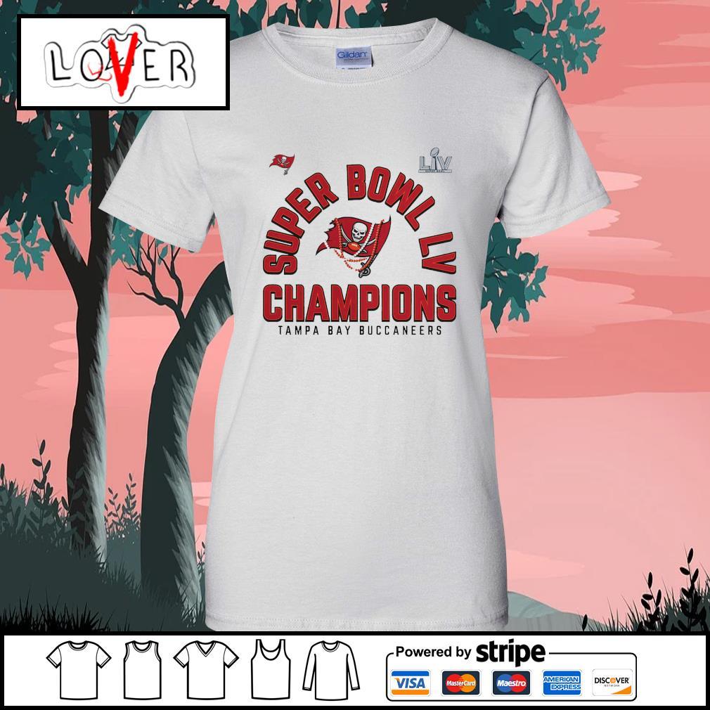 Men's Tampa Bay Buccaneers super bowl champions NFL s Ladies-Tee