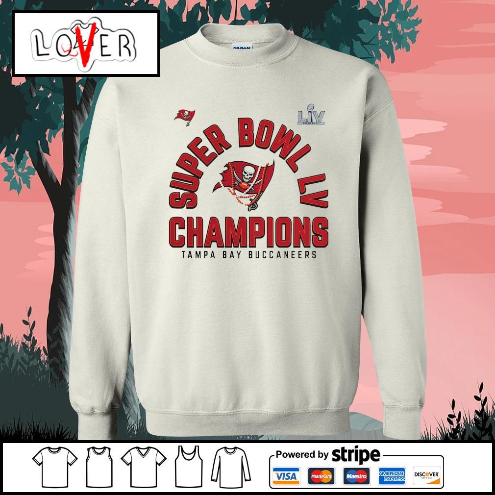 Men's Tampa Bay Buccaneers super bowl champions NFL s Sweater