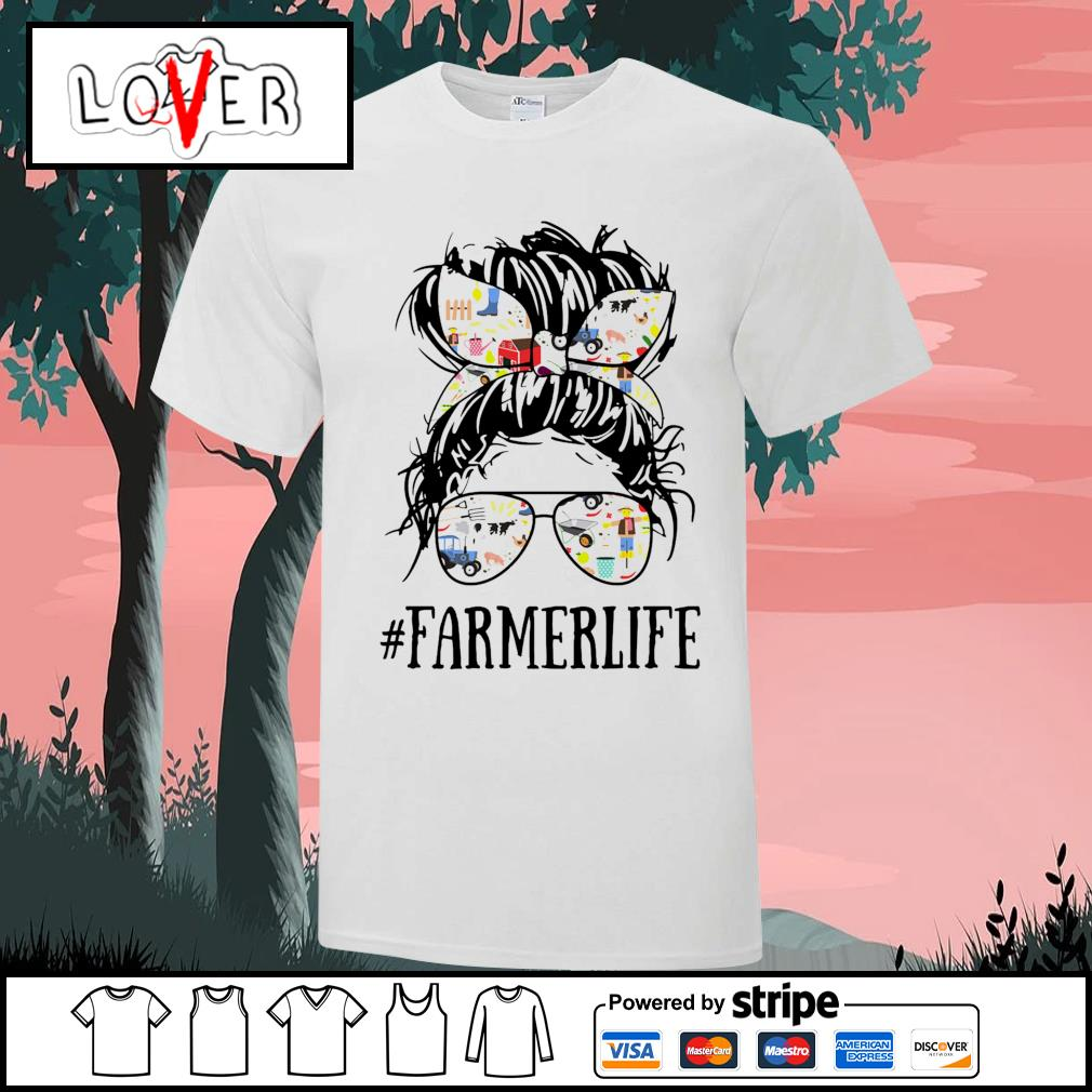 Mom girl Farmer life shirt