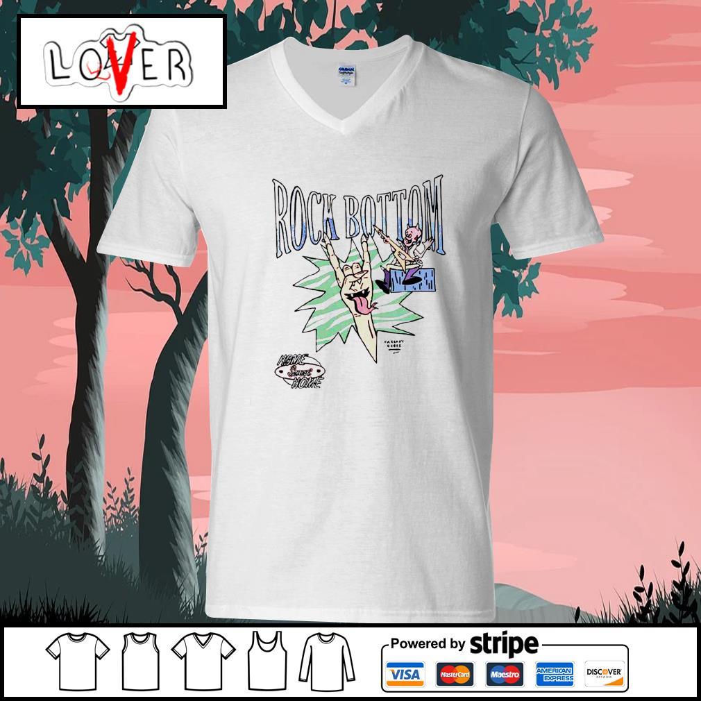 Rock Bottom home sweet home s V-neck-T-shirt