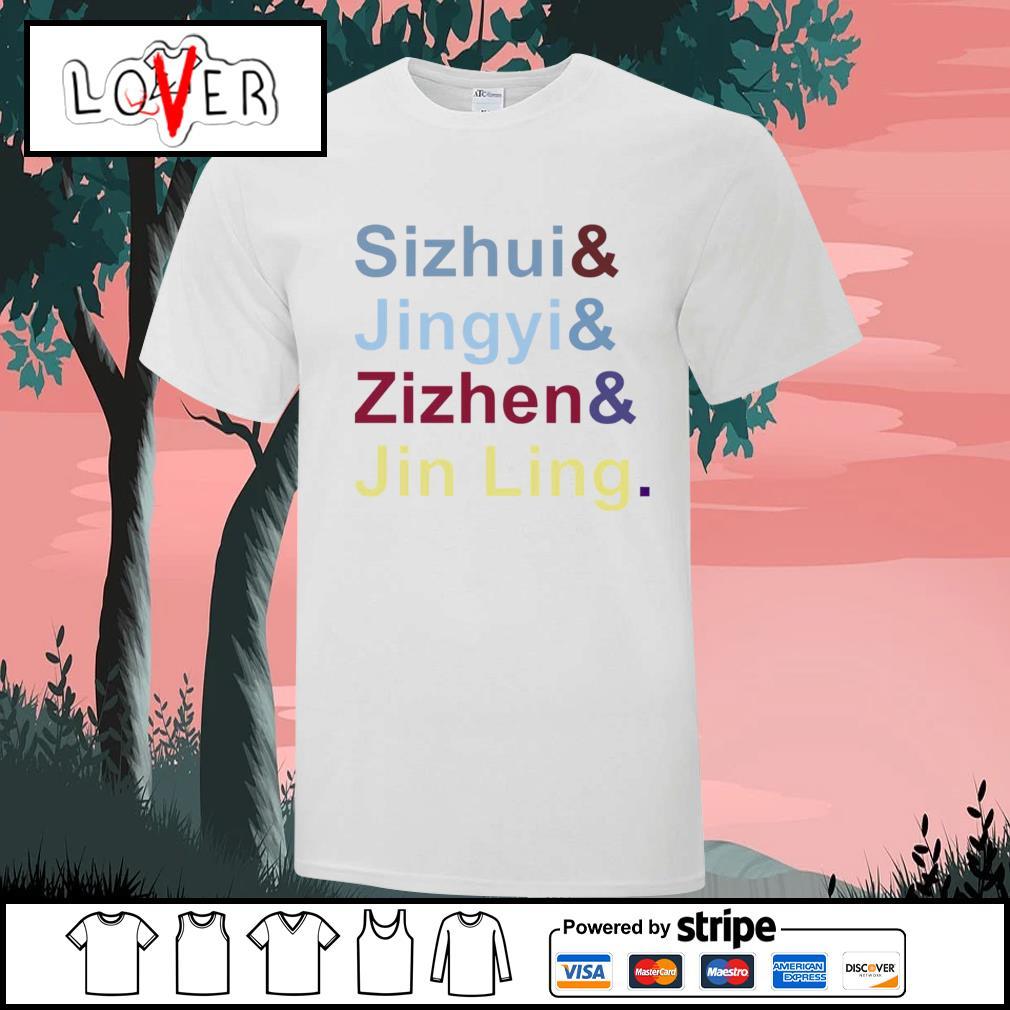 Sizhui Jingyi Zizhen Jin Ling shirt