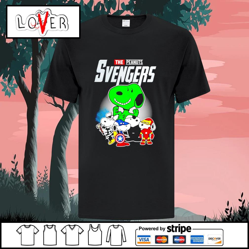Snoopy the Peanuts Svengers Avengers shirt
