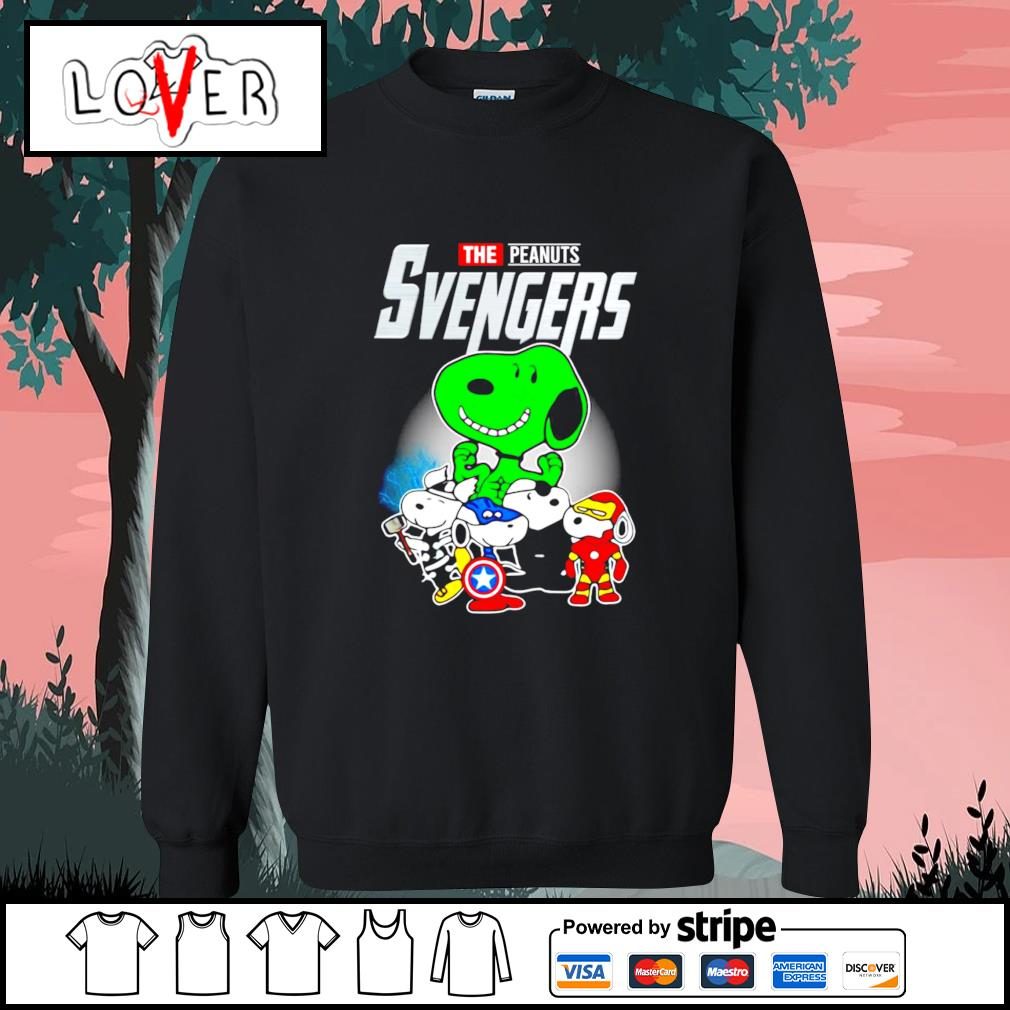 Snoopy the Peanuts Svengers Avengers s Sweater