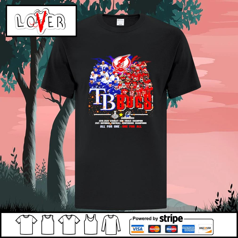Tampa Bay TB Bucs all for one one for all shirt