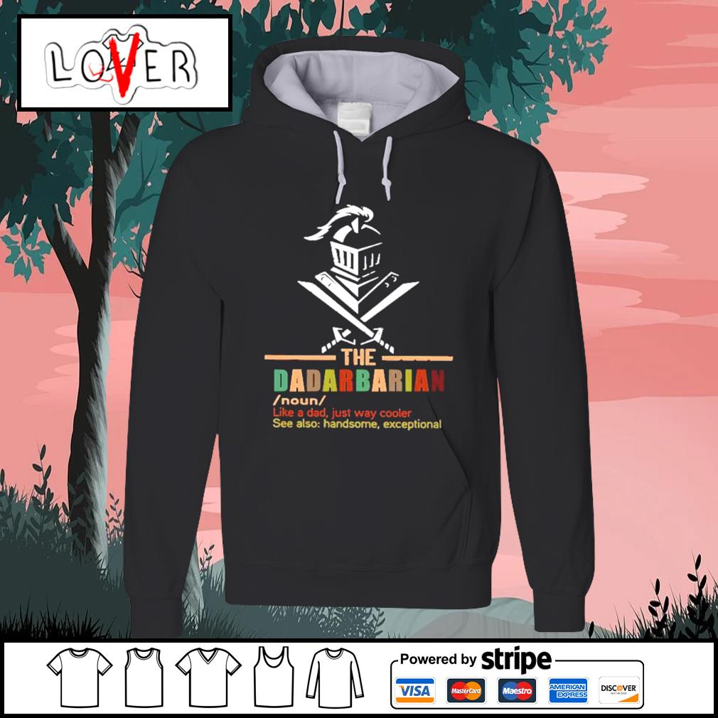 The dadalorian like a dad just way cooler s Hoodie