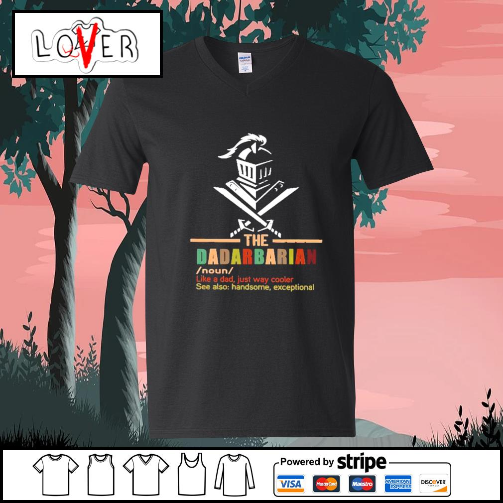 The dadalorian like a dad just way cooler s V-neck-T-shirt