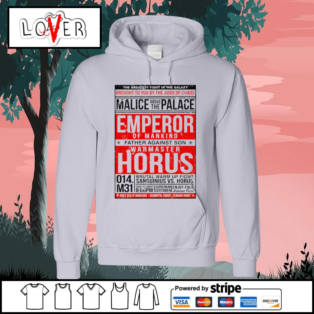 The greatest fight in the galaxy brought to you by the gods of chaos s Hoodie