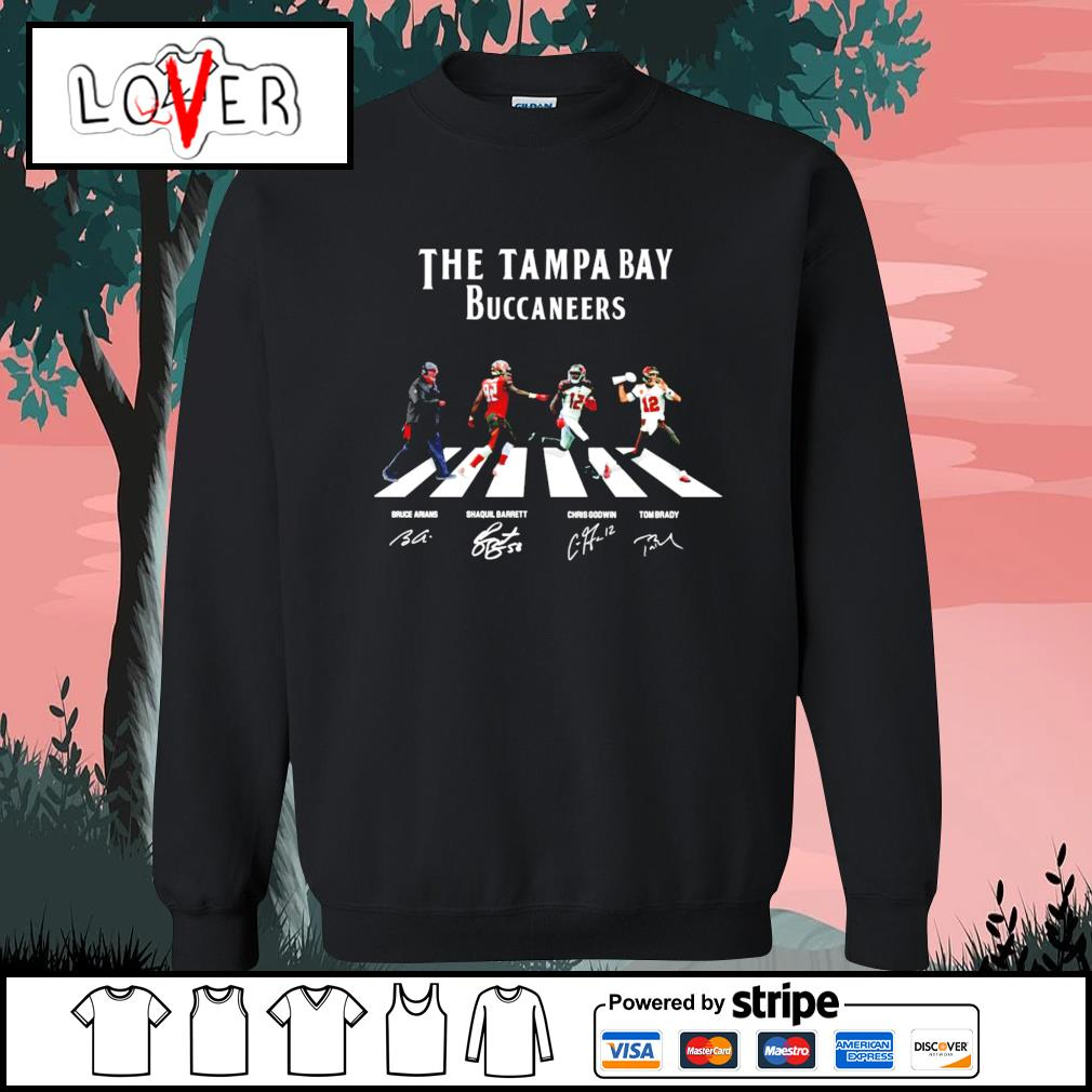 The Tampa Bay Buccaneers abbey road signatures s Sweater