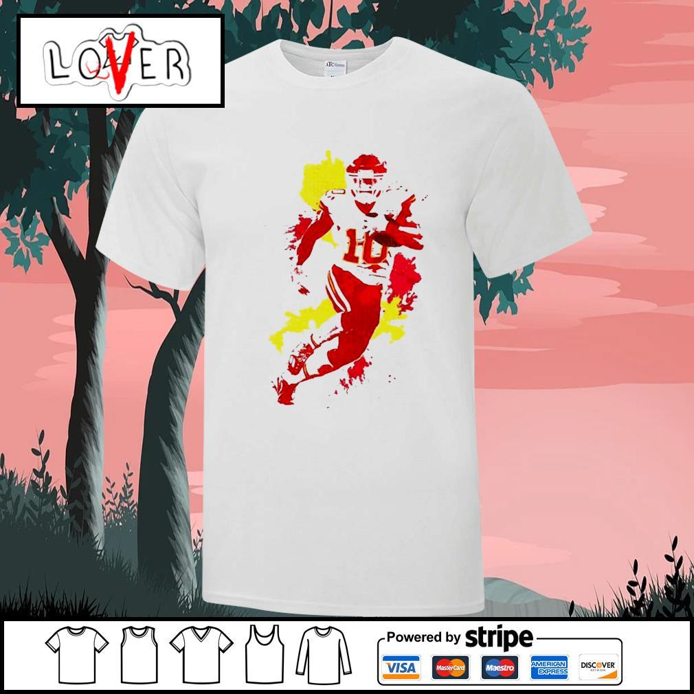 Tyreek Hill kansas city Chiefs Colorful shirt